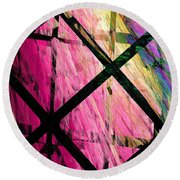 The Powers That Bind Us Square A Round Beach Towel