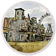 The Prater - Vienna Round Beach Towel