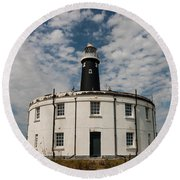 The Round House Round Beach Towel