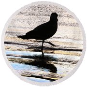 The Royal Society For Protection Of Birds Round Beach Towel