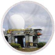 The Sea Based X-band Radar, Ford Round Beach Towel