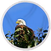 The Sentinel Round Beach Towel