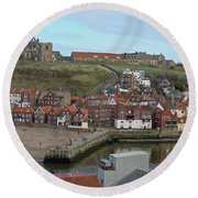 The Shambles - Whitby Round Beach Towel