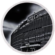 The Stadium Round Beach Towel