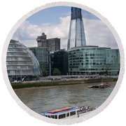 The Thames London Round Beach Towel