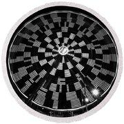 The Wheel That Ferris Built Round Beach Towel