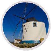 The Windmill Round Beach Towel by Heiko Koehrer-Wagner