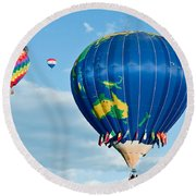 The World Aloft Round Beach Towel