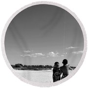 The Wright Brothers Round Beach Towel