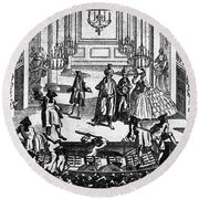 Theater: Covent Garden Round Beach Towel