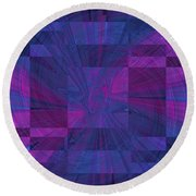 Think Round Beach Towel by Tim Allen