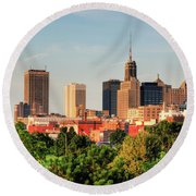 This Is My Town - Buffalo Round Beach Towel