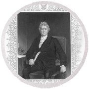 Thomas Clarkson (1760-1846) Round Beach Towel