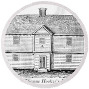 Thomas Hooker (1586-1647) Round Beach Towel