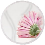 Thoughts So Tender Round Beach Towel