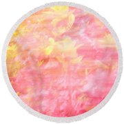 Thru The Breeze Round Beach Towel