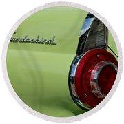 Thunderbird 1 Round Beach Towel