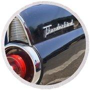 Thunderbird Detail Round Beach Towel