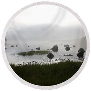 Tide Sequence - High Round Beach Towel