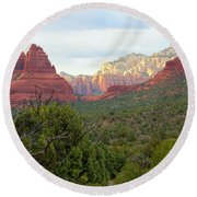 Timeless Sedona Round Beach Towel