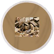Toadely Round Beach Towel
