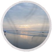 Together Forever Round Beach Towel by Bill Cannon