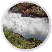 Tongass National Forest Round Beach Towel