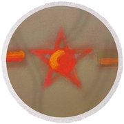 Top Marks Round Beach Towel