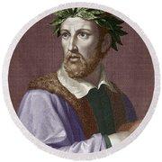 Torquato Tasso (1544-1595) Round Beach Towel