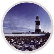 Tory Island, County Donegal, Ireland Round Beach Towel