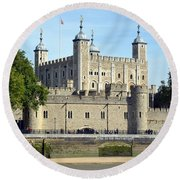 Tower And Traitors Gate Round Beach Towel