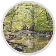 Trinity Foundry Round Beach Towel