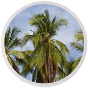 Tropical Cliche Round Beach Towel