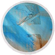 Tsunami Light Round Beach Towel
