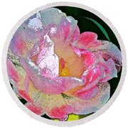 Tulip 44 Round Beach Towel