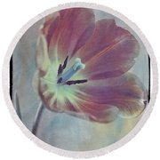 Tulip Adventure Round Beach Towel