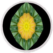 Tulips 2 Round Beach Towel