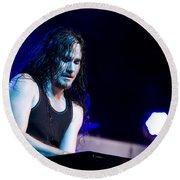 Tuomas Holopainen - Nightwish  Round Beach Towel