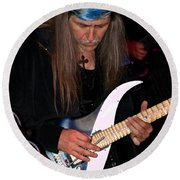 Uli Jon Roth At The Grail 2008 Round Beach Towel