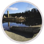 Ulster History Park, Co Tyrone, Ireland Round Beach Towel