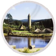 Ulster History Park, Omagh, County Round Beach Towel