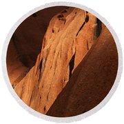 Uluru Australia 7 Round Beach Towel