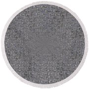 Under The Man Hole Cover Round Beach Towel
