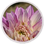 Unnamed Dahlia 3002 Round Beach Towel