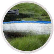 Upper Lake, Killarney National Park Round Beach Towel