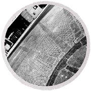 Urban Pattern Round Beach Towel