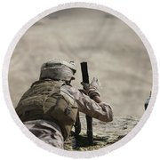 U.s. Marine Clears A Pk General-purpose Round Beach Towel