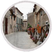 Valldemossa Round Beach Towel