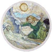Van Gogh: Lazarus Round Beach Towel