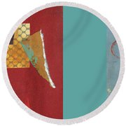 Variations Pieces Round Beach Towel